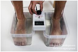 Как ионофорез Electro Antiperspirant устраняет чрезмерную потливость ног